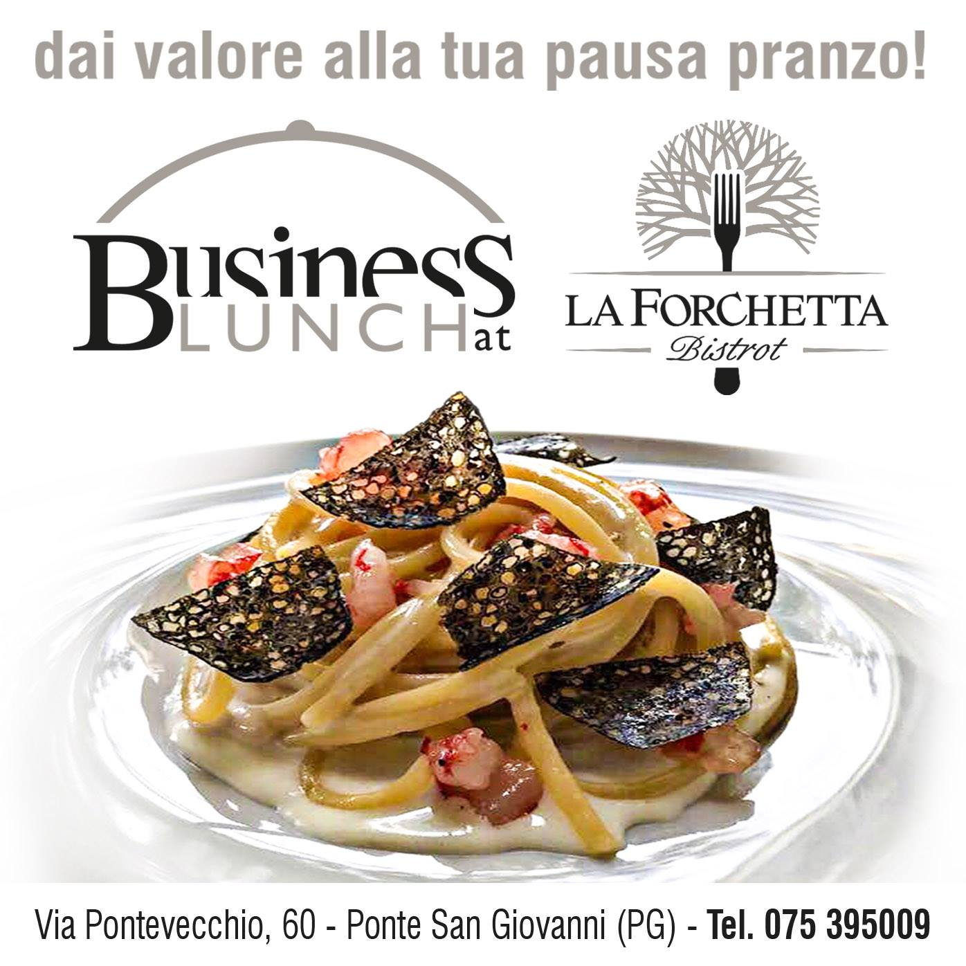Business Lunch 9 Aprile 2018